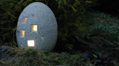 Akmeninis žibintas Ovalas